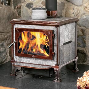 Vermont Dealer- HearthStone 'Mansfield' soapstone wood stove | Friends